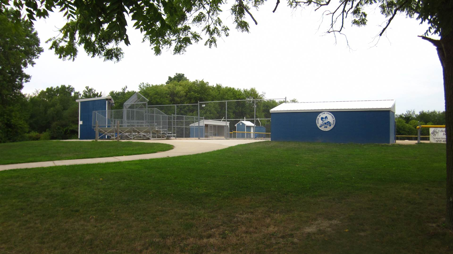 Softball Complex buildings