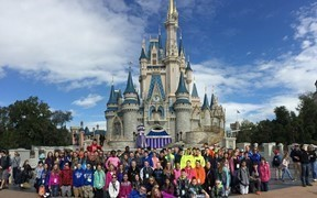 middle school students at disney world