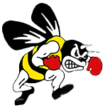 fighting bee logo